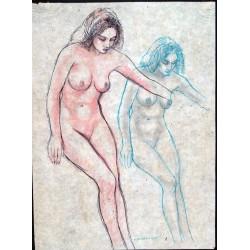 A nued figure