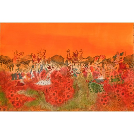 Festival Under the Orange Sky
