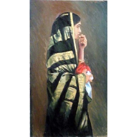 A Rajsthani woman