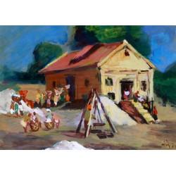 Village Scene-3