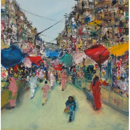 Market in Varanasi